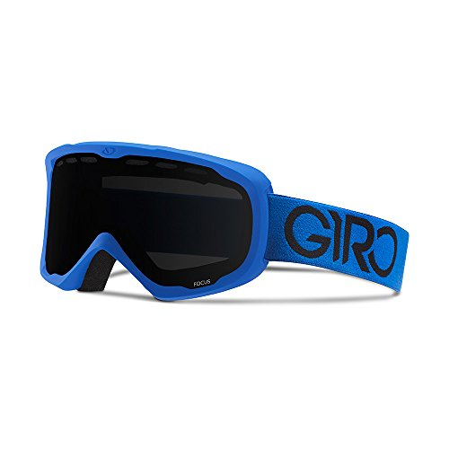 Giro Focus Snow Goggle 2016 - Men's Blue Solo with Black Limo Lens (Giro Mens Ski)
