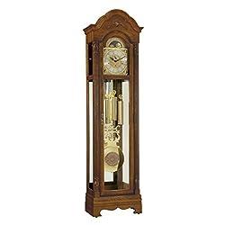 Ridgeway Kingsley Treasure Oak Floor Clock