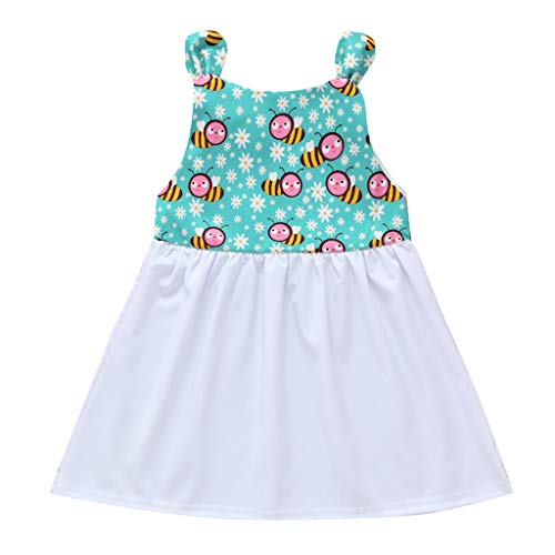 Lurryly (White, 12-18 Months,Label Size:90) Baby Doll Dress Women, Dress for Baby Girl, Baby Girl Dresses 0-3 Months, Kids Princess Dress, White Baby Shower Dress ()