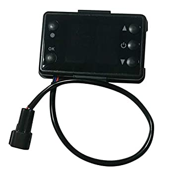 Lynn025Keats 12V//24V 3//5KW LCD Switch Parking Heater Controller for Car Track Air Heater