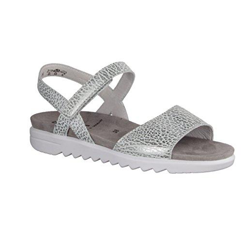 Semler E5015/034-017 - Sandalias de vestir de Piel para mujer Gris gris Gris - gris