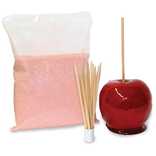Carnus Candy Apple Kit with 10 Wooden Skewers