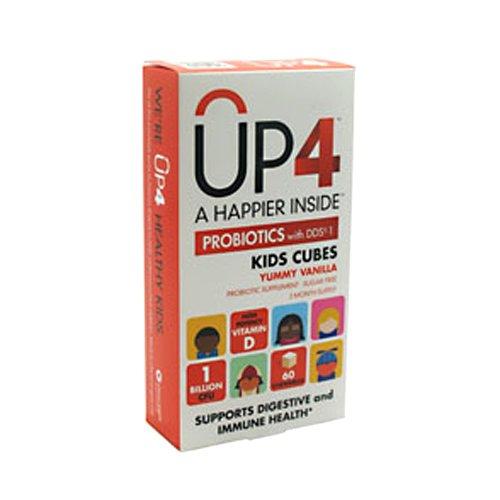 UAS Labs UP4 probiotiques, DDS1 enfants Cubes, 60 comte