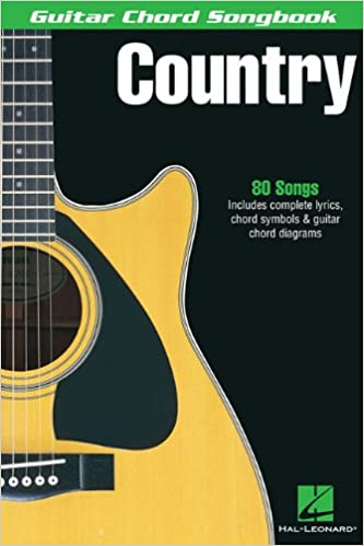Amazon Country Guitar Chord Songbooks 9780634050558 Hal