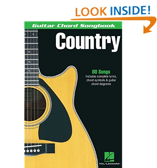 Country Songs For Guitar Amazon