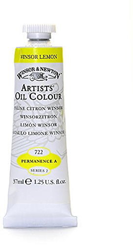 Winsor Newton Artists Oil Colors (Winsor & Newton Artists' Oil Colours (Winsor Lemon) 1 pcs sku# 1874850MA)