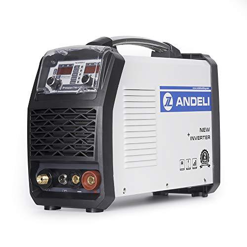 ANDELI 110V TIG Welder with Cold Welding Au Ag Spot Welding Multifunctional Welding Machine TIG-250GPLC (Package 0)