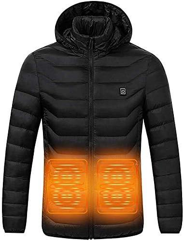 加熱ベスト 電熱ジャケット 電熱 ベスト USB充電式電熱ウェア ダウンジャケット ダウン コート 加熱ベスト 保温 防寒 加熱服 ホットベスト 男女兼用 3段階温度調節 屋外作業着 バイク 釣り スキー アウトドア 男女兼用