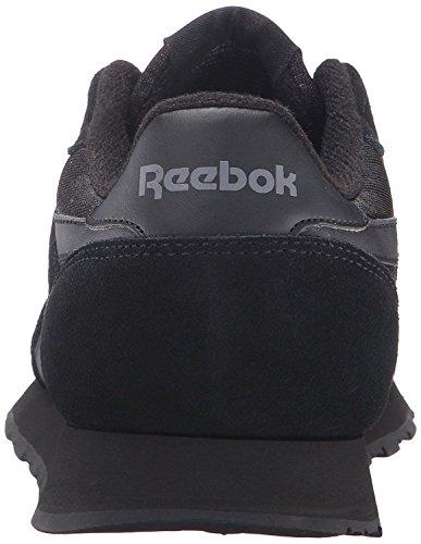 Reebok Mens Cl Nylon Klassieke Sportschoen Ons, Black / Zwart / Carbon