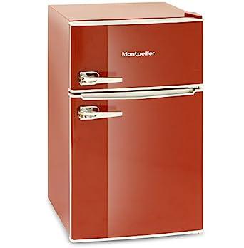 montpellier mab2030r retro style fridge freezer red. Black Bedroom Furniture Sets. Home Design Ideas