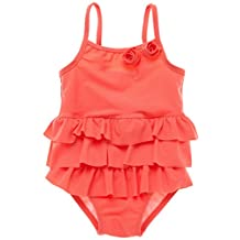 BeautyIn Baby Girl's One Piece Swimwear Ruffle Swimsuit Floral Swimming Cosutme
