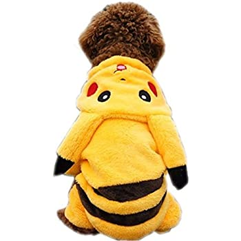 "PAWZ Road Cartoon Design Pet Costume Small Dog Clothes (M(Chest 15.4"" Body Length 9.6""))"