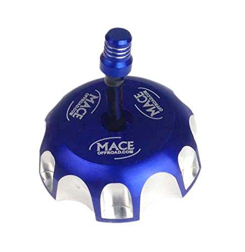1 NEW BLUE BILLET CNC FUEL GAS CAP FITS Honda CR85 CR125 CR250 CR 85/125/250 ()