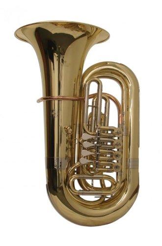Schiller American Heritage BBb Rotary Tuba - Yellow Brass by Schiller