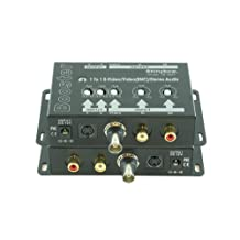 Shinybow SB-2809 S-Video, Composite Video (BNC) and Audio Signal Booster, Shinybow SB-2809 by Shinybow