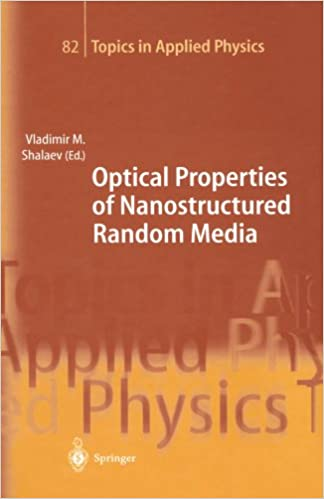 Book Optical Properties of Nanostructured Random Media (Topics in Applied Physics)