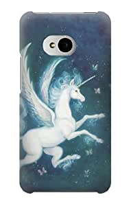 S1129 Unicorn Horse Fantasy Case Cover For HTC ONE M7