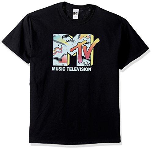 d573d3469 Jual MTV Men's Retro Logo T-Shirt - T-Shirts | Weshop Indonesia