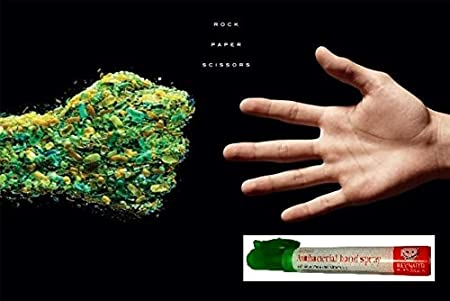 Reynard antibacterial Hand sanitización y superficie Spray bolígrafos - 7 x 10 ml (7 Pack) con Aloe Vera, Vitamina E viaje bolso tamaño.: Amazon.es: Belleza