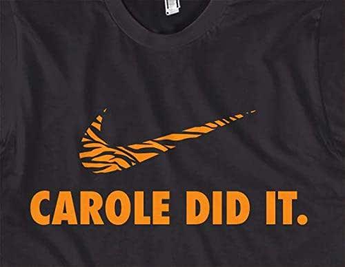 Tiger King-Big Cat Rescue Tee Joe exotique Carole Baskin Shirt