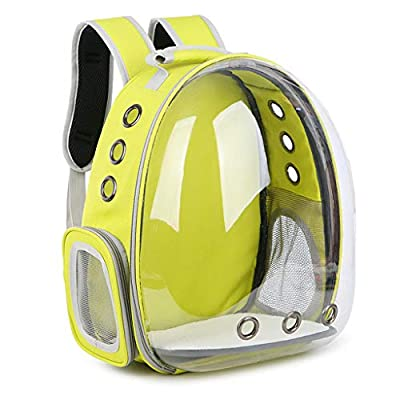 Yeahii Breathable Transparent Space Capsule Pet Cat Puppy Travel Space Backpack Carrier Bag from Yeahii