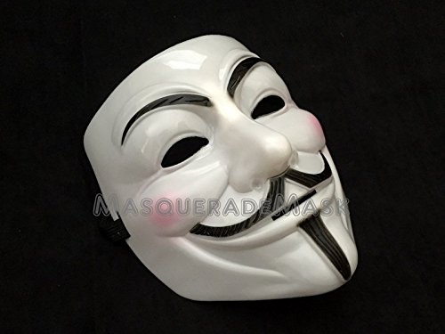 Bulk Wholesale Best Price 1 lot (6pcs) Pink V for Vendetta Guy Fawkes Anonymous USA Occupy V Mask