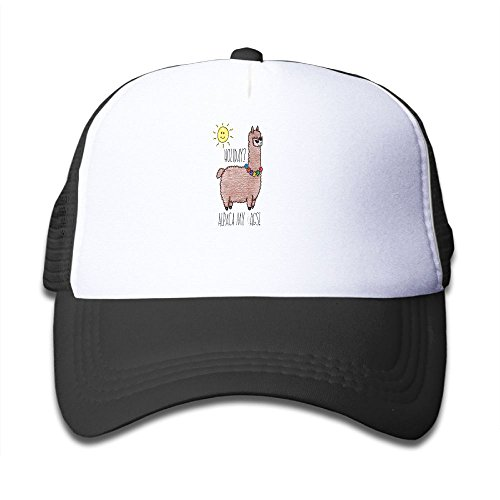 SHANWEN Cute Mesh Hat An Adventure Alpaca Lightweight Breath