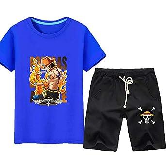GHMM Camiseta de los hombres traje de manga corta tendencia ...
