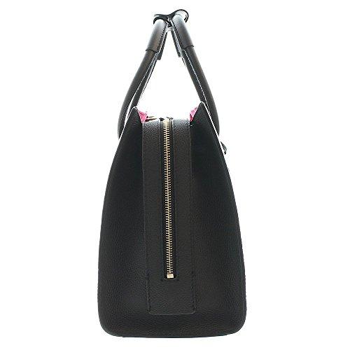 Tumbled Black Women's Lagerfeld Karry Handbag Leather All Karl Lagerfeld Black Karl Black x5v0d6q5w