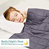 KEEPTOP Kids Weighted Blanket with Removable