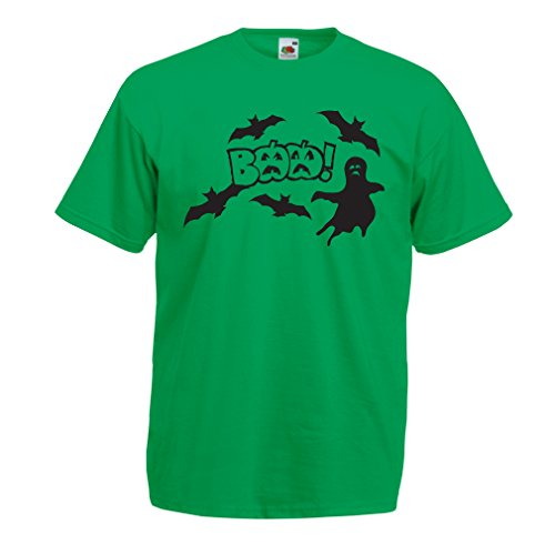 T shirts for men BAAA! - Funny Halloween Costume ideas, cool party outfits (XX-Large Green Multi (Remake Halloween 2017)