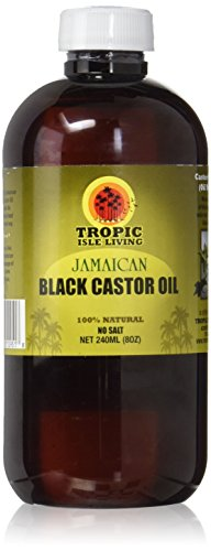 Jamaican Black Castor Oil 8oz, Plastic PET Safe Bottle