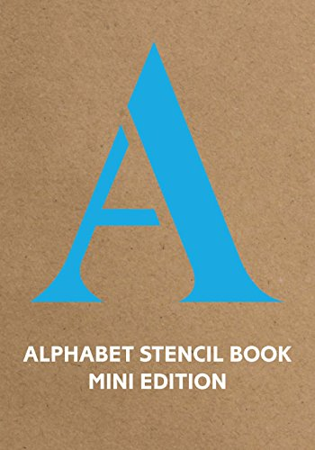 Alphabet Stencil Book mini edition (Books Mini Alphabet)