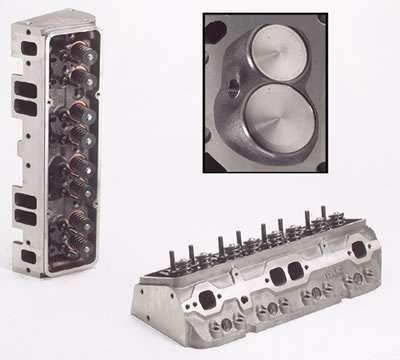 Dart Iron Eagle 180 Iron Cylinder Head 180 cc Intake SBC P/N 10221111
