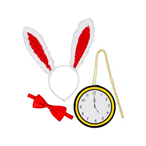 White Rabbit Costumes Kit (Wonderland White Rabbit Costume Kit)