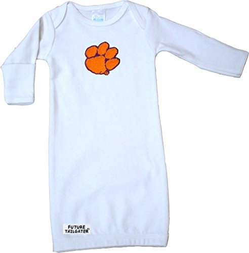 Layette Apparel (Clemson Tigers Baby Layette Gown)