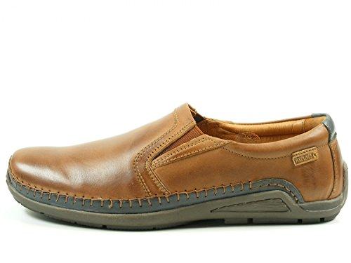 Azores para de 06H Zapatos Braun Pikolinos hombre Mocasines cuero 3087C1 fxEqW1T