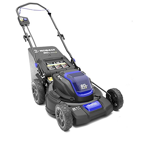 Kobalt 80-volt Brushless Lithium Ion 21-in Cordless Electric Lawn Mower (Mower only, no battery/charger included)
