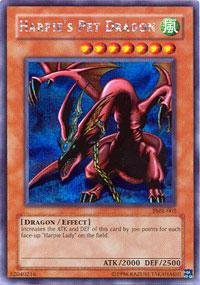 Yu-Gi-Oh! - Harpie's Pet Dragon (FMR-002) - Forbidden Memories PS Promo - Promo Edition - Secret Rare