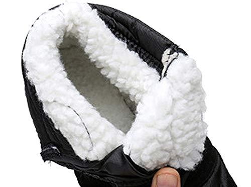 Icegrey Imperméable Botte Noir Bottes Homme Chaud Neige De ArAwXq