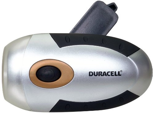 Duracell 60-060 Smart Power Self Powered LED V2 Flashlight Innovative Concepts