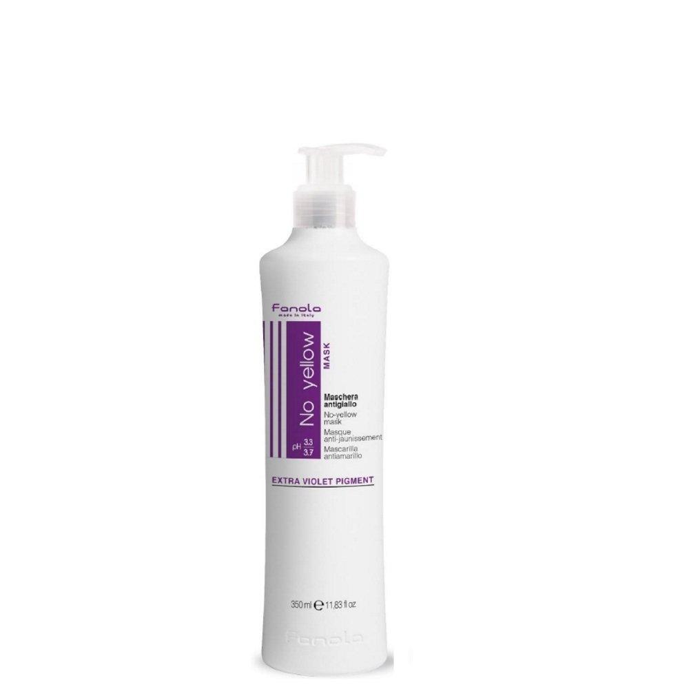 No yellow Mask-Extra Violet Pigment/Maschera Antigiallo 350 ml FANOLA
