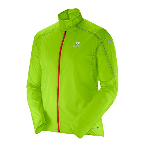 Salomon Men Granny Light Green S Grün Lab Jacket anaFv1
