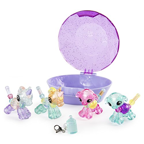 Twisty Petz Babies 4-Pack Unicorns and Puppies Collectible Bracelet Set for Kids