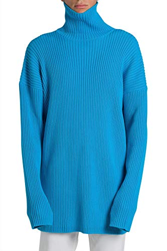 Balenciaga Luxury Fashion Mens 583089T31544640 Light Blue Sweatshirt | Fall Winter 19