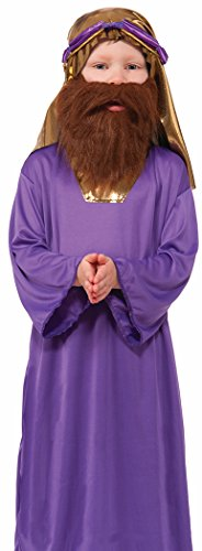 Forum Novelties Biblical Times Wiseman Child's Costume Beard (Child Wiseman Costumes)