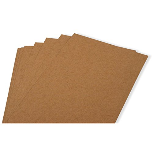 QUICKUTZ Lifestyle Crafts Adhesive Media, 6-Inch by 12-Inch Chipboard, 12 Sheets
