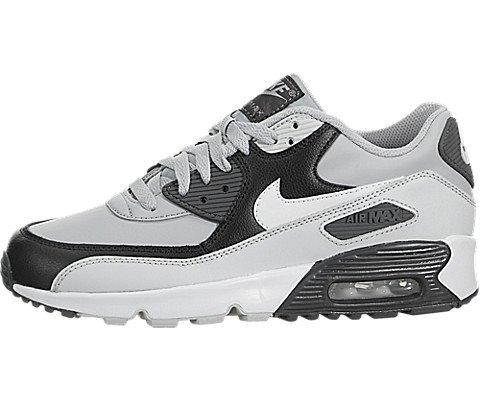 Kids Nike Air Max 90 Leather GS Black 833412 001 US 5y