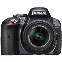 Nikon D5300 24.2 MP CMOS Digital SLR Camera with 18-55mm f/3.5-5.6G ED VR II AF-S DX NIKKOR Zoom Lens (Grey)