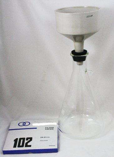 Buchner Funnel - Filter Setup Extra Large Includes 250mm Buchner Funnel, 5000mL Flask, Stopper and Filter Paper